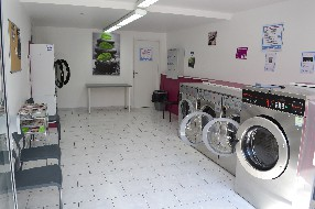 Laverie Wash and Dry concept Lamalou les Bains